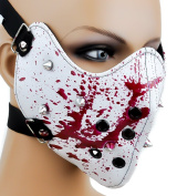 Decal Market Bloody Spike Motorcycle Face Mask Gothic Horror style Model Outdoor & Repair Store