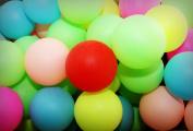 50 Assorted Beer Pong Balls - Ping-Pong Balls Washable Plastic
