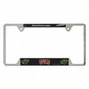NHL Metal Licence Plate Frame