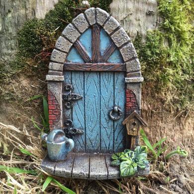 Miniature Pixie Elf Fairy Door Tree Garden Home Decor