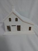 Village General Store 13cm ready to paint ceramic bisque