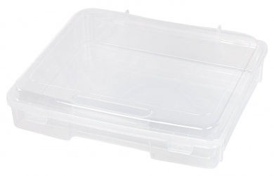 IRIS Portable Project Case, 6 Pack, Clear