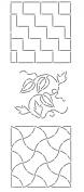 Quilting Creations Mini Sashiko Stencil, 20cm