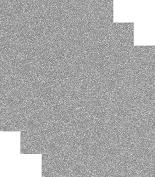 Siser Glitter Heat Transfer Vinyl HTV for T-Shirts 25cm by 30cm (0.3m) Sheets 3 Pack