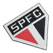 TSP117 São Paulo Brazil Brazilian Shield Football Soccer Embroidered Patch Iron or Sew 3.9 x 8.9cm x 0.3cm