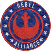 Star Wars Official 'Rebel Alliance' Logo Lucasfilm Embroidered Iron On Patch