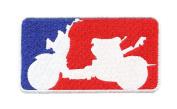 Major League Ruckus Shirt Patch 9.5cm - Ruckus Patches - Team Patches - Club Patches - Scooter Patches