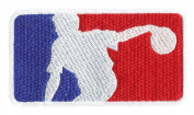 Major League Bowling Shirt Patch 9.5cm - Bowling Ball - Bowler - Team Patches - League Patches