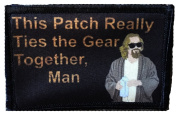 Big Lebowski Pee Rug Morale Patch. Perfect for your Tactical Military Army Gear, Backpack, Operator Baseball Cap, Plate Carrier or Vest. 5.1cm x 7.6cm Hook Patch. Made in the USA