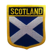 Scotland Flag Emblem Patch / UK British Sew-On or Iron-On Tactical Morale Patch