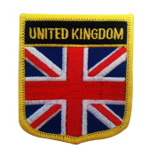 Great Britain UK Flag Patch / United Kingdom Emblem for England, Scotland, Wales, and Northern Ireland