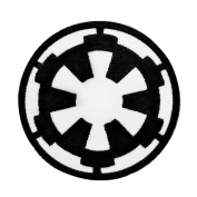 Star Wars Imperial Crest Official Iron-On Patch Empire Cosplay Craft Applique