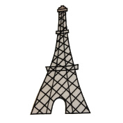ID 0146 Eiffel Tower Patch France Craft Embroidered Iron On Applique