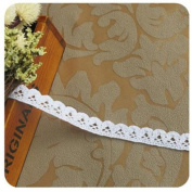 OZXCHIXU (TM) 5 metres Guipure White Lace Ribbon Trim Sew for Embroidery , Craft Scrapbooking DIY Gift Packing Decoration