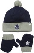 NHL Toddler Bam Bam Knit Hat & Mittens Set