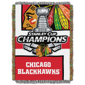 NHL Team Stanley Cup Champions Tapestry Throw 48X60 - Pick Your Favourite Team!