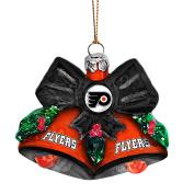NHL Glitter Bells Ornament