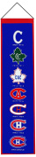 Montreal Canadiens Logo Heritage Wool Banner