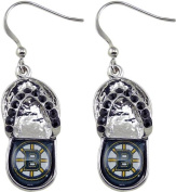 NHL Chicago Blackhawks Flip Flop Crystal Earrings