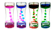 Pack of 3 Single Liquid Timers Assorted Colours by PLAYLEARN