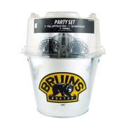 Boelter Boston Bruins Plastic Pints Party Set