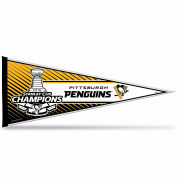 Pittsburgh Penguins Champions Official NHL 2016 Stanley Cup Wall Pennant Champs Rico 204219