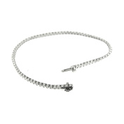 2.50 Ct White Gold Diamond women's Tennis Bracelet 18 Kt