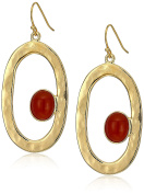 Ben-Amun Jewellery Sculpture Garden Oval Drop Earrings