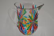 Murano Glass Starburst Pitcher