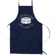 I Like Big Bundts and I Cannot Lie Pun Funny Parody Cooking Baking Kitchen Apron - Navy Blue