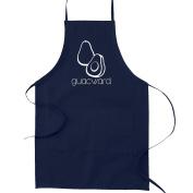 Guacward Avacado Guacamole Funny Parody Cooking Baking Kitchen Apron - Navy Blue
