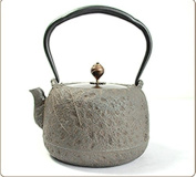 Japanese Cast Iron Pot Pure Hand-Rusted Boutique Boiled Water Tea 1.2L
