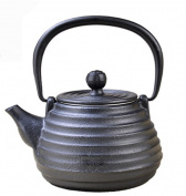 Japanese Cast Iron Pots Without Coating Manual Spiral Pattern Style Boiled Water Tea 600ML