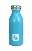 ard' Time du-lifepm-bl Design Double Walled Stainless Steel Thermos Flask Blue 6.5 x 6.5 x 17.5 cm