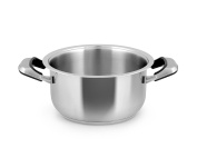Inoxpran Classic Casserole with 2 Handles, Stainless Steel, Grey, 36 x 25.5 x 12.5 cm