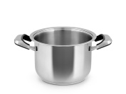Inoxpran Classic Pan With 2 Handles, Stainless Steel, Grey, 37 x 25.5 x 16.5 cm