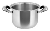 Inoxpran Classic Pan With 2 Handles, Stainless Steel, Grey, 35 x 23.5 x 15 cm