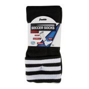 Franklin Sports ACD Black/White Soccer Socks