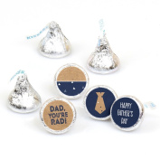 My Dad is Rad - Father's Day Round Candy Sticker Favours - Labels Fit Hershey's Kisses