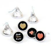 Best Mom Ever - Mother's Day Round Candy Sticker Favours - Labels Fit Hershey's Kisses