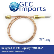 910-386 Fireplace 60cm Thermocouple