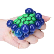 Anti Stress Grape Ball Autism Mood Squeeze Stress Reliever Relief Toy