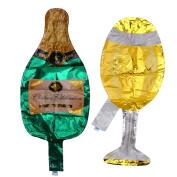 Zebra Champagne Bottle Beer Foil Balloon Kid Toy Wedding Party Birthday Decor Supplies