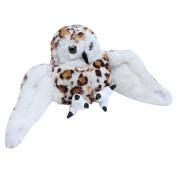 Snuggle Stuffs Snowy White Owl Plush Educational Hand Puppet