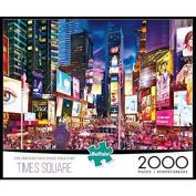 Buffalo Games 2000-Piece Puzzle, Times Square