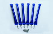 Monkey Bars (6 Pack) - Blue
