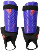 adidas Performance Predator Club Shin Guard, Night Flash Purple/Solar Red