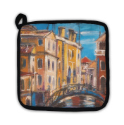 Gear New 5803969-GN-PH1 The Bridge from Ancient Venice Pot Holder