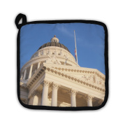 """Gear New 5452309-GN-PH1 """"California State Capitol"""" Pot Holder"""