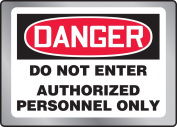 DO NOT ENTER authorised PERSONNEL ONLY